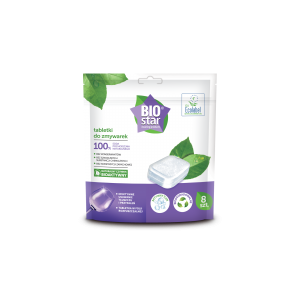 Ekologiczne tabletki do zmywarek Biostar